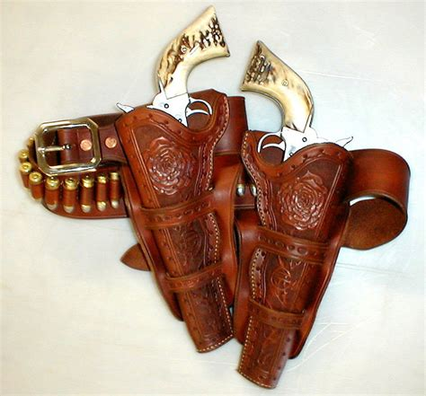 Handmade Leather Holster - custom handmade western leather holsters car interior design