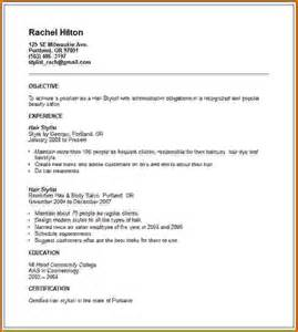 10 how to write cosmetology resume lease template