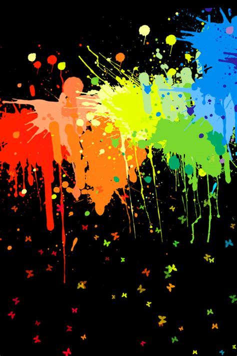 paint spatter wallpaper iphone wallpapers