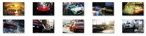 theme for windows 7 nfs most wanted need for speed most wanted windows 7 theme