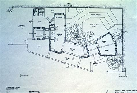 community center floor plan community center b w drawing ground floor plan archnet