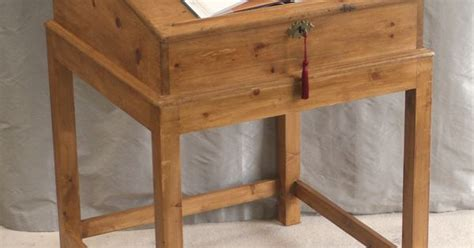 Antique Pine Writing Desk by Antique Pine Writing Desk Also Known As A