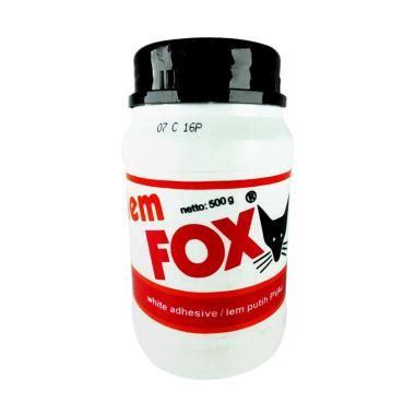 Lem Glue Lem Putih Fox 150g jual lem fox harga promo diskon berkualitas