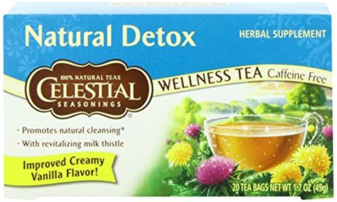 Celestial Detox Tea by Celestial Seasonings Detox Tea 20 Count Most