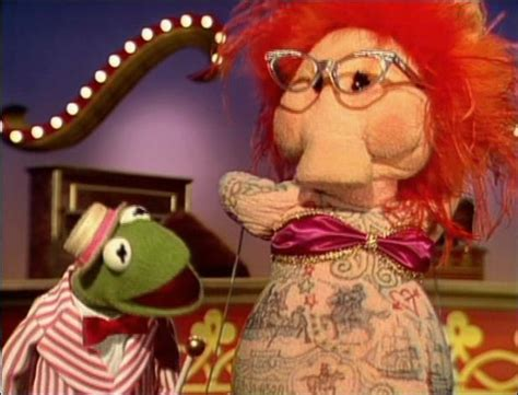 lydia the tattooed lady beaker the muppet mindset