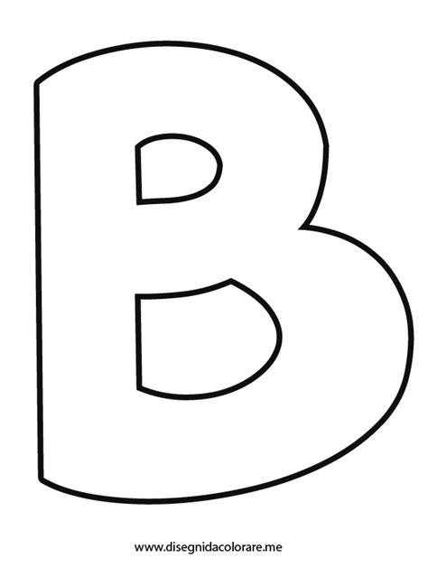immagini lettere lettera b da colorare disegni da colorare