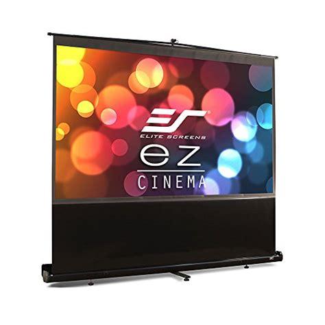 elite screens ezcinema series    manual pull
