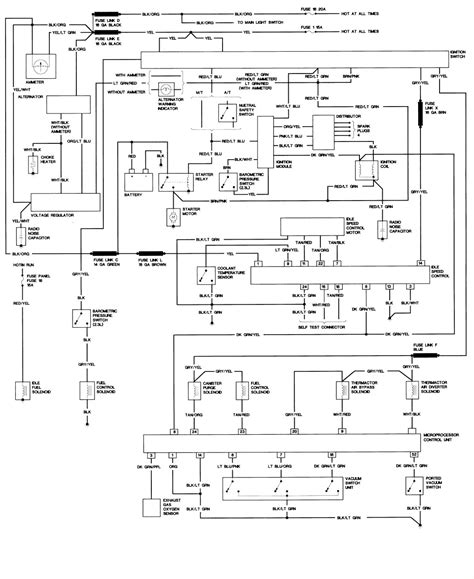 93 ranger ke light wiring diagram 93 ranger headlights