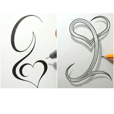 initials tattoo ideas g i for them tattoo