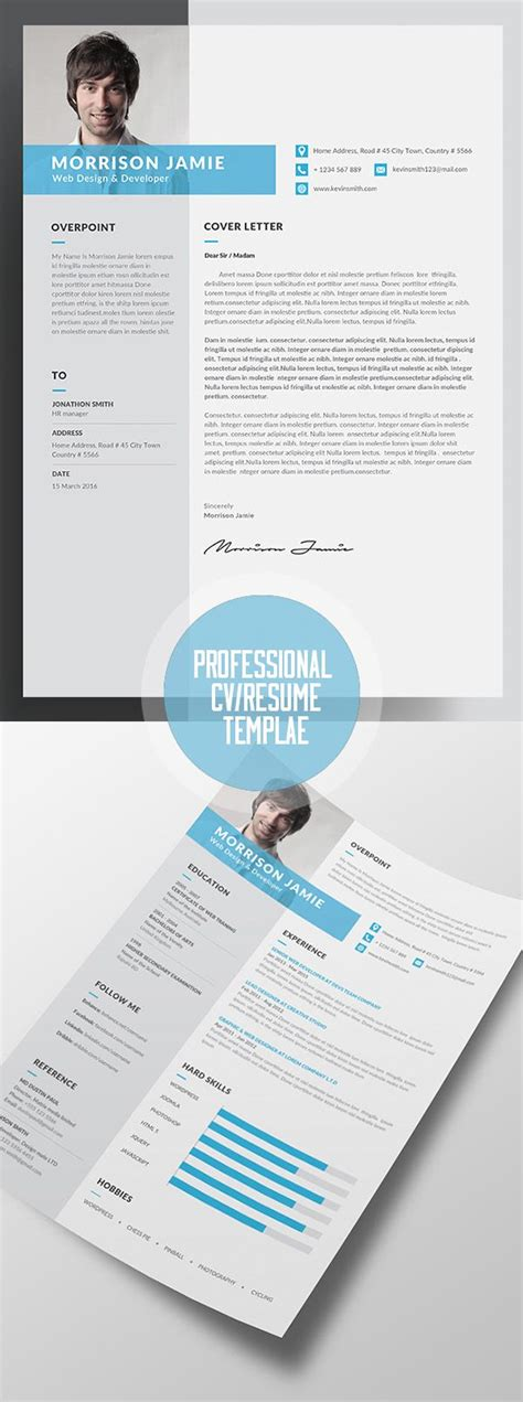 3 Cv Resume Indesign Templates Clean by Clean Resume Word Indesign Template Print Ready Designs