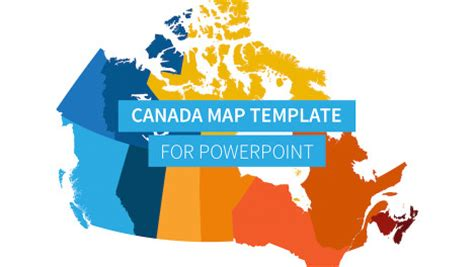 us and canada map for powerpoint canada map for powerpoint improve presentation