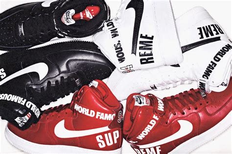 Nike X Supreme supreme x nike air 1 high collection release date sbd