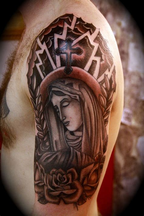 sleeves tattoos for men ideas religious sleeve tattoos designs ideas and meaning