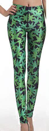 leaf pattern tights womens weed maple leaf pattern stretch leggings medium