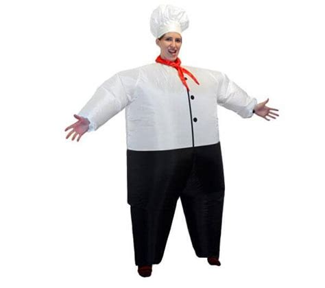 Inflatable Chef Costume ? Steamy Kitchen Recipes