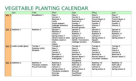 Vegetable Garden Calendar Uk Allotment Heaven Vegetable Planting Calendar