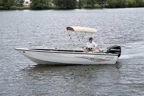 bimini top on tiller boat research crestliner boats fish hawk 1850 tiller on iboats