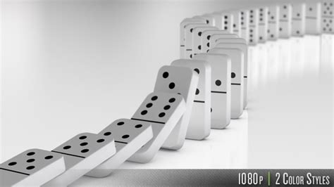 domino effect falling by butlerm videohive