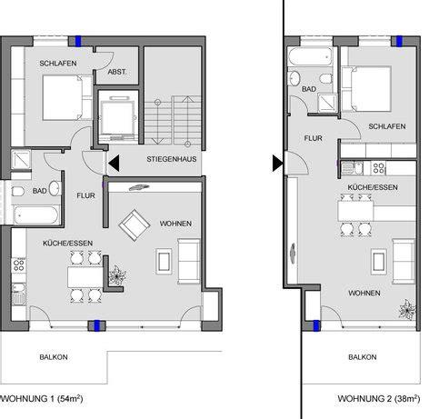 wohnung 50 m2 grundriss planungs und investitionsbeispiele