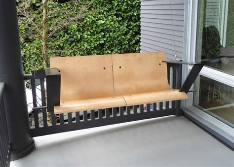 contemporary porch swing modern porch swing