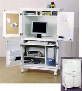 computer armoire computer desk home diy ideas
