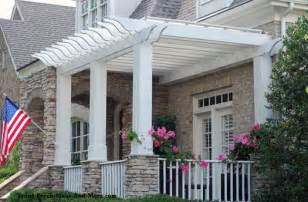 Pergola Extension Ideas by Patio Ideas To Expand Your Front Porch