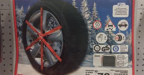 cadenas nieve para que sirve qu 233 cadenas de nieve elijo y como montarlas