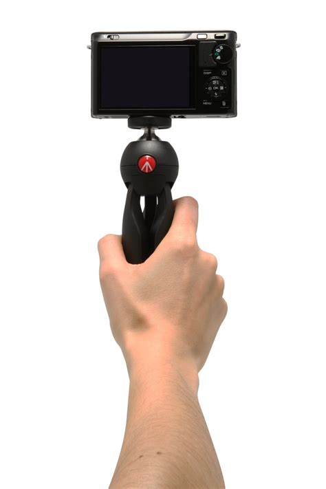 tripe mini manfrotto  camera  celular pixi mtpixi