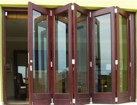 folding wooden doors interior interior sliding folding doors wood design interior home