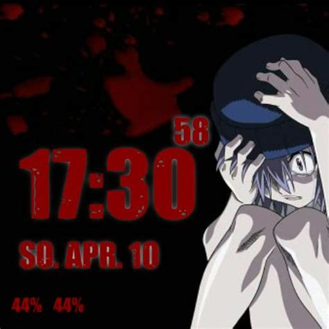 elfen lied theme for smartwatch 3 facerepo