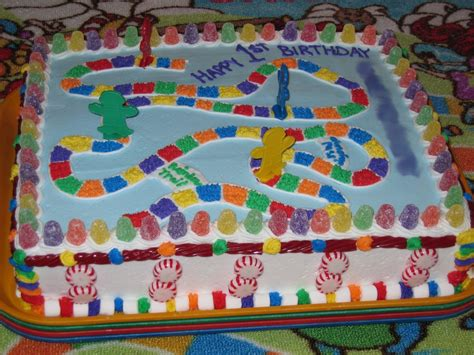 Candyland Decoration by Candyland Cakes Decoration Ideas Birthday Cakes