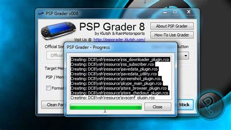 tutorial hack psp 3006 psp tutorial how to make a magic memory stick install 5
