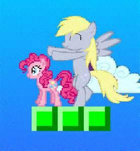 Derpy and pinkie pie in pinkie pie flash game my little pony