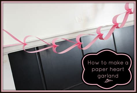 How To Make A Paper Chain - how to make a paper chain garland vs the boys