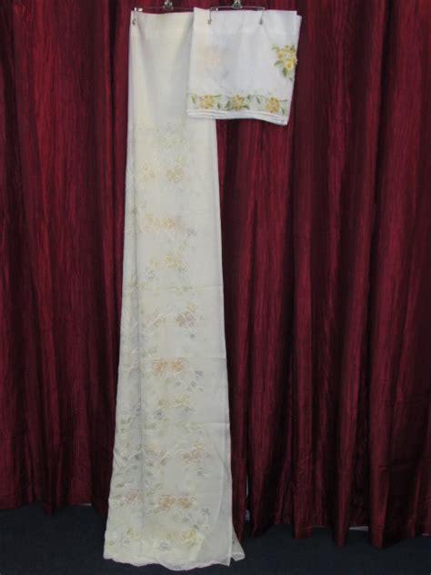 Just Valances Lot Detail Pretty Floral Sheer Curtains Valances Just