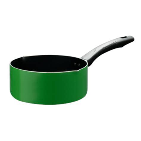 Panci Keramik Fincook jual panci saucepan fincook sp1802tf bibir tuang green