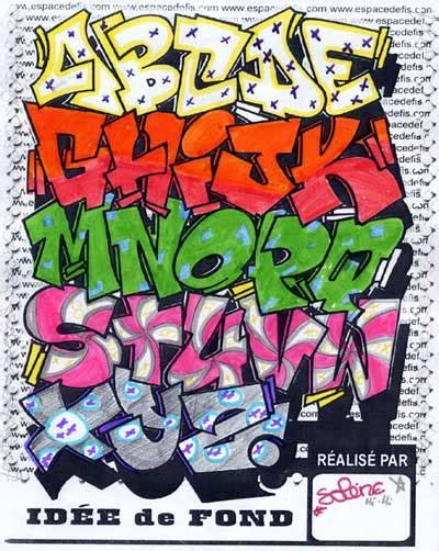 design huruf coc nuevas letras para graffitis taringa