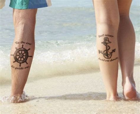 tattoos for a couple to get matching tattoos for couples to express their everlasting