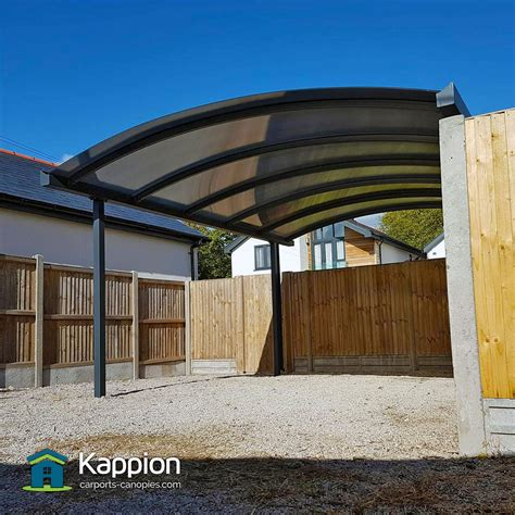 One Car Carport by Carport Installed In Whitstable Kappion Carports Canopies
