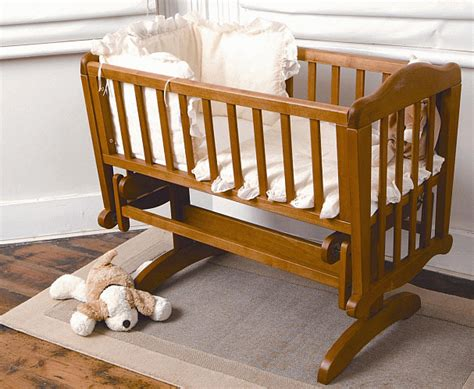 Rocker Crib by Sapling Glider Rocking Crib Antique Finish Bnib Ebay