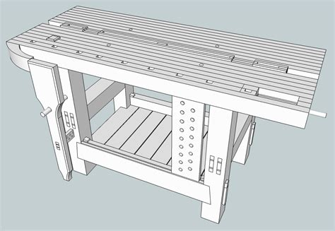build workbench plans roubo diy  wood engraving laser