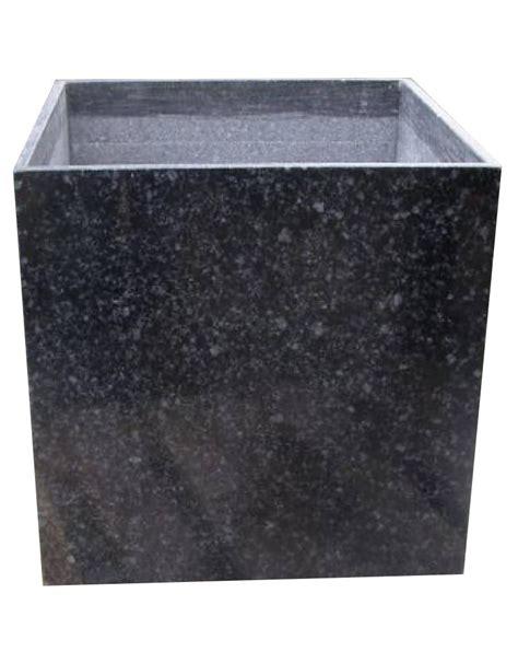 Granite Planters by Black Granite Planter