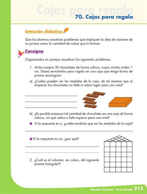 matematicas 6 grado contestado el equipo de caminata libro de matematicas de sexto grado 2011 contestado