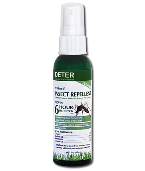 effective deet free insect repellent deter outdoor skin protection