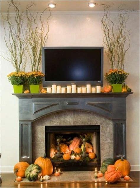 1000 ideas about fall fireplace mantel on pinterest fireplace mantle decorating ideas for fall holiday