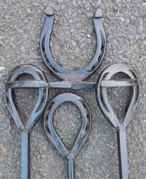 Western Fireplace Tools by Set Mid Century Western Horseshoe Fireplace Tools
