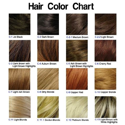 latest hairstyles color chart ash blonde hair color chart newhairstylesformen2014 com