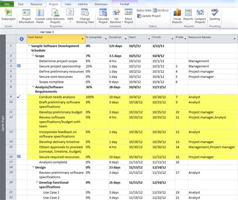 build a task reporting window filter in microsoft project