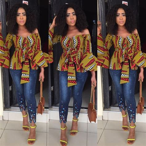 hairstyles for party on jeans top sexy fabulous ankara blouses we find amazing a