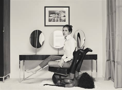 buro 247 black chair miroslava duma sits on black and calls it ix daily